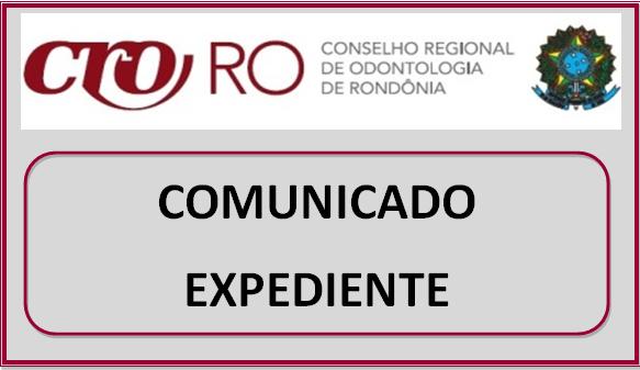 COMUNICADO DE EXPEDIENTE: Ponto facultativo nesta sexta-feira (08/09/17) em virtude do FERIADO de 7 DE SETEMBRO