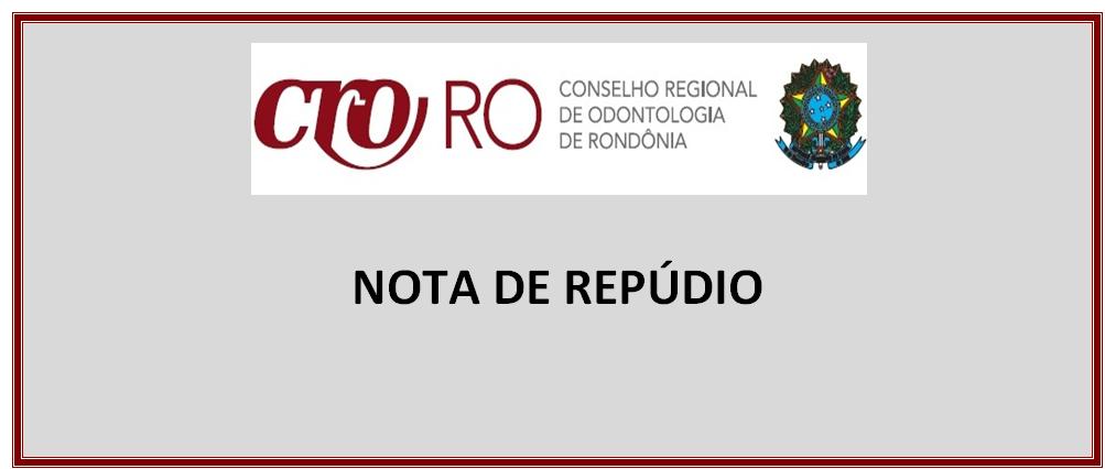 NOTA DE REPÚDIO CONTRA VIOLÊNCIA