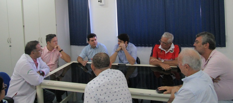 CRO-RO participa novamente de reunião no Hospital de Base