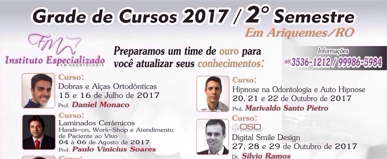 Instituto Especializado em Odontologia divulga cursos em Ariquemes