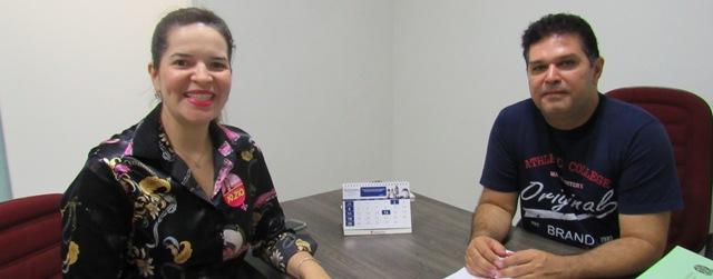 CRO-RO recebe a cirurgiã-dentista e candidata a deputada estadual Ana Maria Negreiros