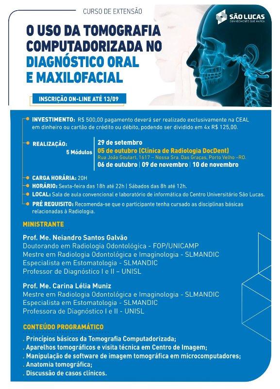 Uso da Tomografia Computadorizada para Diagnóstico Buco-Maxilo-Facial