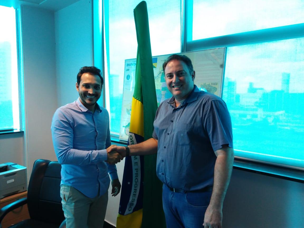 Presidente do CRO-RO esteve reunido com Secretário Estadual da Saúde em prol da Odontologia