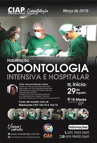 Especializacao em Odontologia Intensiva e Hospitalar