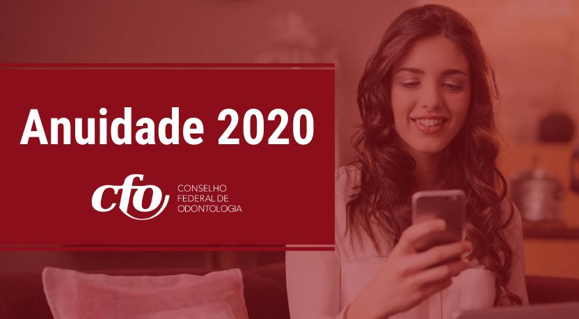CRO-RO orienta profissionais sobre ANUIDADE DE 2020