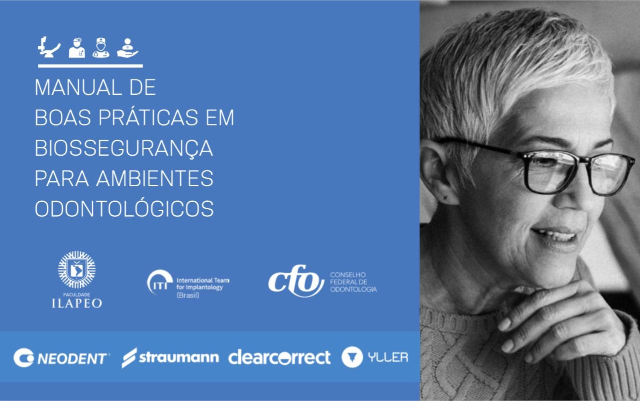 COVID19: Manual de Boas Práticas em Biossegurança para Ambientes Odontológicos é lançado com apoio institucional do CFO