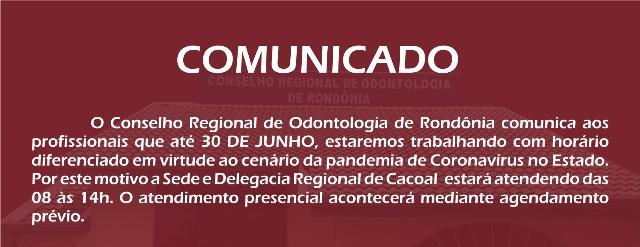 COMUNICADO: ATENDIMENTO PRESENCIAL POR AGENDAMENTO PERMANECERÁ ATÉ 30/06