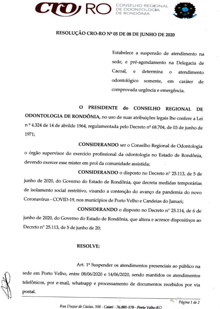 resolução 5