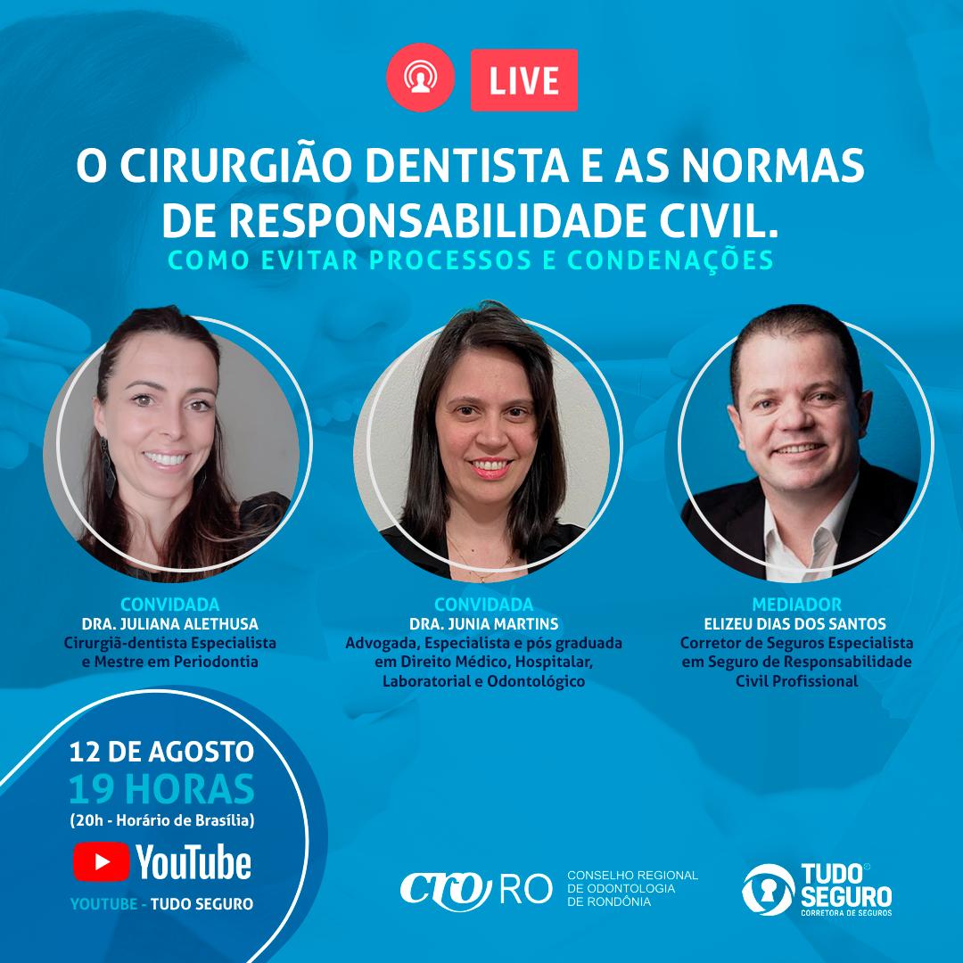Resultado: Live | O Cirurgião-dentista e as Normas de Responsabilidade Civil