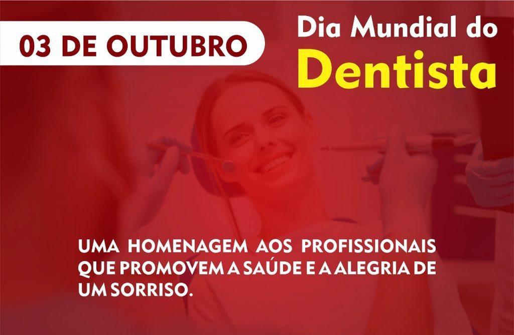 03 de outubro-Dia Mundial do Dentista uma homenagem do CRO-RO!