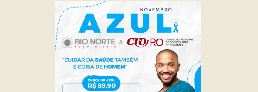Parceria CRO-RO: Bio Norte Laboratório lança CHECK UP AZUL