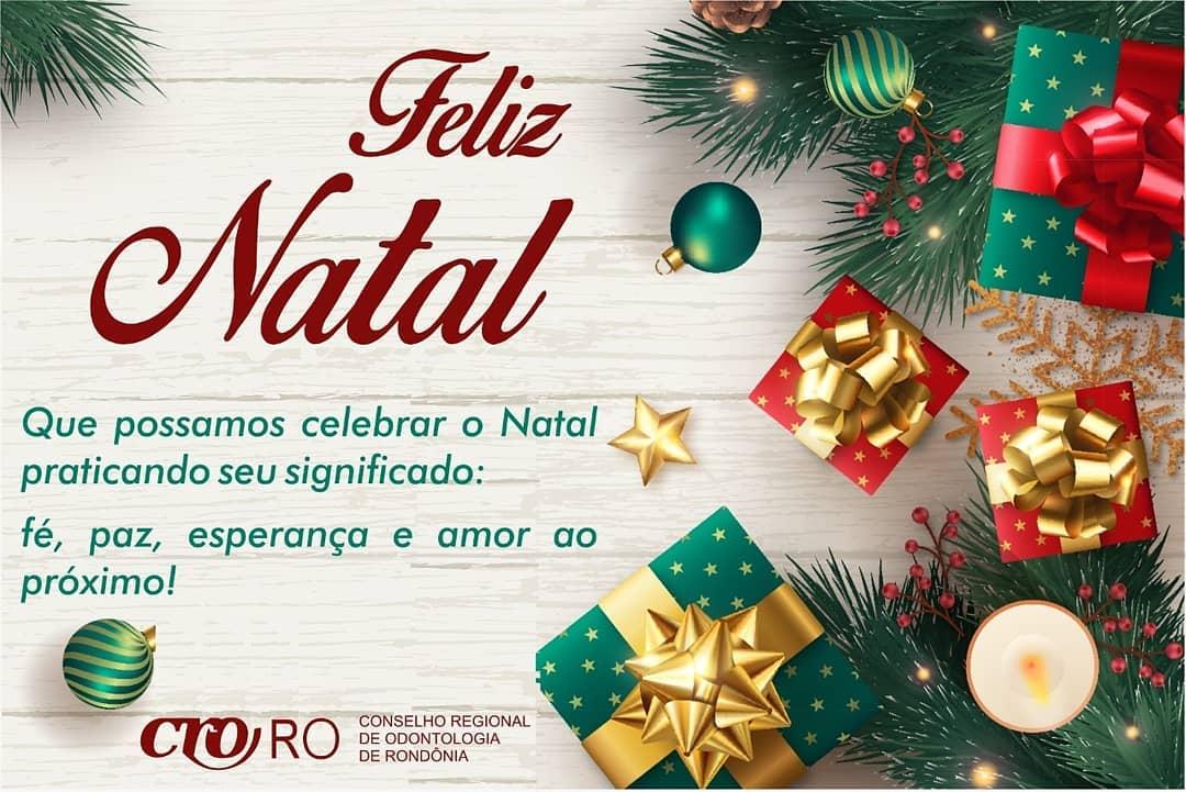 Plenário do CRO-RO deseja aos profissionais Um Feliz Natal!