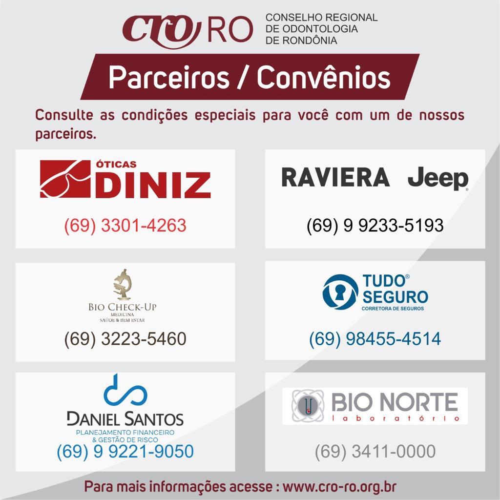 CRO-RO inicia projeto e firma parcerias de descontos para categoria