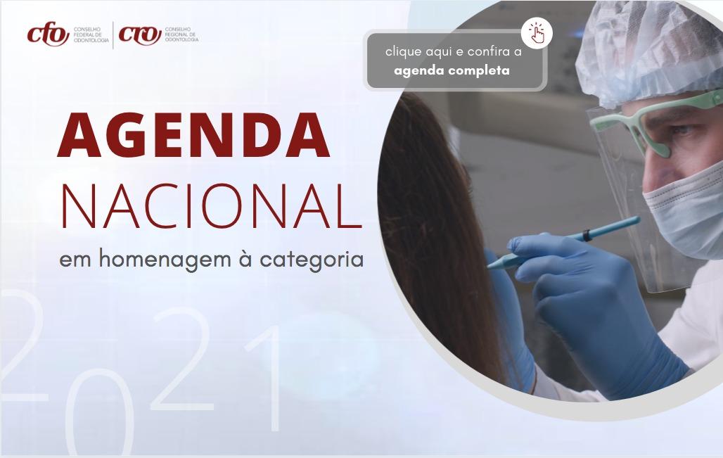 Agenda Nacional: homenagem ao Cirurgião-Dentista
